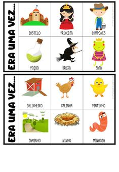 Criar Recriar Ensinar Games For Kids, Activities For Kids, Poetry For Kids, Teaching Spanish, Stories For Kids, Conte, Kids Education, Pre School, School Projects