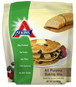 All Purpose Baking Mix. Great for bread, waffles, pancakes and more! -Atkins All Purpose Baking Mix. Great for bread, waffles, pancakes and more! Atkins Recipes, Low Carb Recipes, Cooking Recipes, Healthy Recipes, Healthy Foods, Diet Recipes, Low Carb Bread, Low Carb Diet, Keto Bread