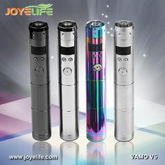 Variable voltage e-cigarette vamo v5, super hot colored stainless steel e-cigarette vv vamo v5 mod tube only free shipping email : joyelife010@joyelifetech.com  skype:joyelife010