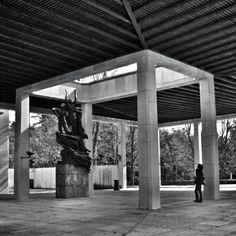 Cementerio Skogskyrkogarden; Erik Gunnar Asplund   azukarillo