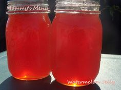 Watermelon Jelly a.k.a. Summer in a Jar