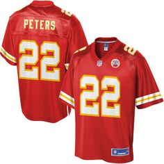 Men's Kansas City Chiefs Marcus Peters NFL Pro Line Team Color Jersey