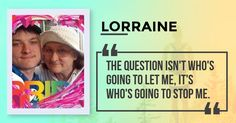 <b>Lorraine</b>, this sentence sums up your personality. One day the people who didn't believe in you will tell everyone how they met you. You are sure in your ways and adamant to prove yourself to the world.  <br> This is who you are. Share this with your friends and let them discover which sentence sums up their personality.