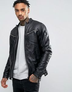 Buy Mower Leather Jacket For Men