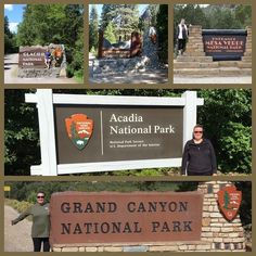 #roadtrip #acadianationalpark #grandcanyon #nationalpark #mesaverdenationalpark #kingscanyon #glaciernationalpark #nps #signs #the59parks #findyourpark #goparks #americasbestidea