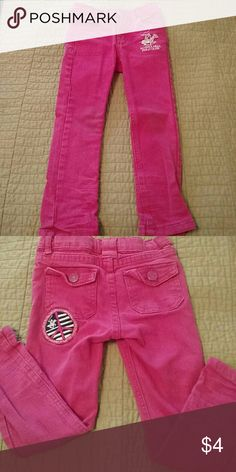 Pink skinny jeans toddler 2t good condition but is used Bottoms Jeans