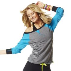 Already Torn Long Sleeve Tee | Zumba Fitness Shop  Get 10% off all your Zumba wear @ Zumba.com  Use AFFILIATE code: Sweetie72