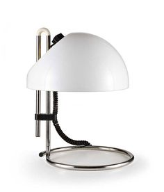Wannenes Art Auctions-Plastic and metal table lamp, n°4026