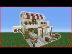 http://minecraftstream.com/minecraft-tutorials/minecraft-tutorial-how-to-make-a-cafe/ - Minecraft Tutorial: How To Make A Cafe In this video i show you how to make a small cafe, this would fit very well into any city or town or possible a village build. feel free to suggest other possible builds and if you do enjoy builds like this then give this video a like! i'll be watching Twitter – @TSMC360 Check...