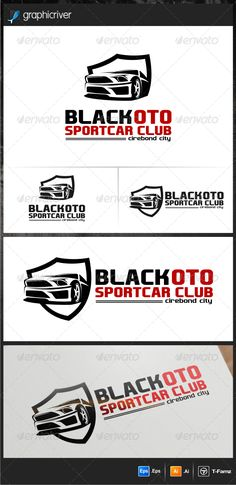 Black Oto Logo Templates — Vector EPS #drift #speed • Available here → https://graphicriver.net/item/black-oto-logo-templates/5352389?ref=pxcr