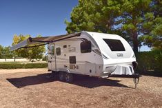 The Lance 1685 Travel Trailer comes with a large awning to provide your family with plenty of shaded play space! Off Road Camper Trailer, Camper Trailers, Travel Trailers, Motorhome, Recreational Vehicles, Tiny House, Living Spaces, Play, Storage
