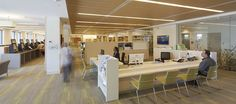 Burwood Library & Community Hub - Opened March 2014 - customer service desk