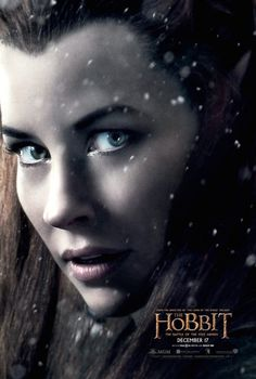 Evangeline Lilly Is 'Tauriel' On Latest THE HOBBIT: THE BATTLE OF THE FIVE ARMIES Poster