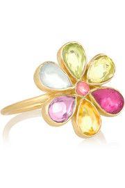 Pippa Small 18-karat gold tourmaline ring $1,500