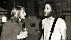 Nirvana's Kurt Cobain & TAD's Kurt Danielson, 1989