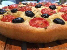 Focaccia pugliese col Cuisine Companion - Powered by @MyCuCo