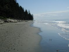 China Beach at Juan de Fuca Provincial Park; near Jordan River on Vancouver Island, BC 2002 Vancouver Island, Canada Vancouver, Nanaimo British Columbia, China Beach, East Coast, Wander, Places Ive Been, Beaches, To Go