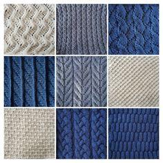 Breideken ligt momenteel even stil Loom Knitting, Knitting Stitches, Baby Knitting, Knitting Patterns, Baby Blanket Crochet, Crochet Baby, Knit Crochet, Crochet Sampler Afghan Pattern, Manta Crochet