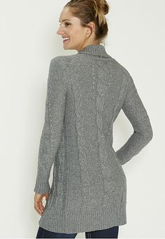 ultra soft cable knit cardigan - maurices.com