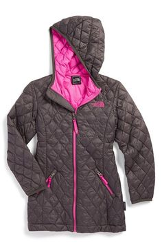 The North Face 'ThermoBall' PrimaLoft® Quilted Parka (Little Girls & Big Girls) available at #Nordstrom