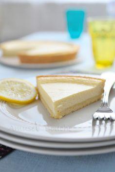 #Tarte au #fromage blanc et au #citron