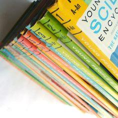 1960s Childrens Science Encyclopedia Book Set $68