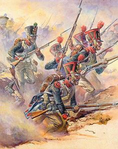 """""""21th Regiment at the approaches to the battery Raevskaya"""""""