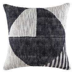 Cubist Cushion 50x50cm  Black