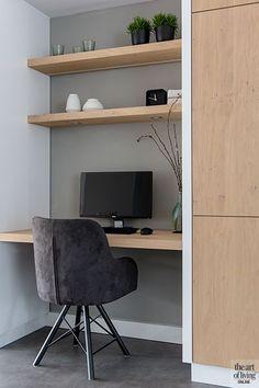 Luxury Homes - Interior Design - Home Furnishings Luxury Homes Interior, Luxury Home Decor, Home Interior Design, Interior Ideas, Home Office Closet, Office Nook, Home Office Design, Home Office Decor, Living Room Grey