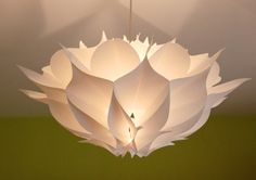 boiler design office  Paper Pendant Light by Karl Zahn