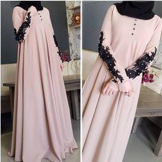"""3,641 Likes, 102 Comments - Для сестер, с любовью❤ (@asiya_salyafi) on Instagram: """"_ Ассаляму аляйкумИ вот опять у нас, такое простое,но в тоже время милое платье, с черным шарфом,…"""""""