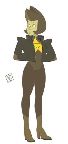 Yellow Diamond as a Crystal Gem ♡