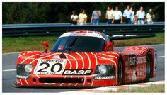 1982: 1000KM Spa: Sauber C6 Ford with Heyer and stucco of Karsten Denecke