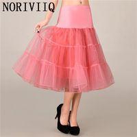 NEW Tutu Vintage Petticoat Organza Crinoline 50s Short Pink01 Underskirts Wedding Bridal Skirts For Women's Wedding Dresses