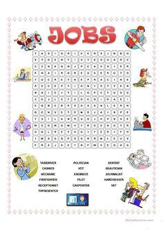 JOBS WORDSEARCH