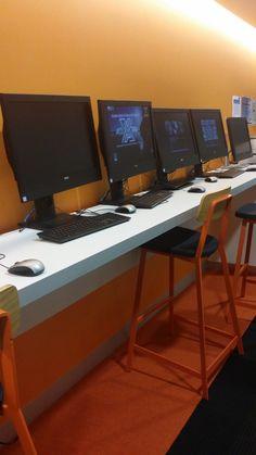 ACU Standing Desks & High Chairs BigCity Designs