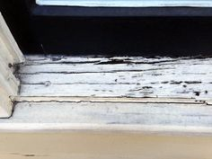 home repairs,home maintenance,home remodeling,home renovation Window Sill Decor, Wood Repair, Wood Images, Home Fix, Casement Windows, Home Repairs, Window Design, Diy Home Improvement, Paint Cans