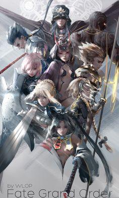 ArtStation - Fate Grand Order, WL OP