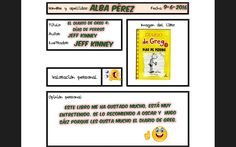 Alba recomienda una lectura de Greg al que todos ya conocéis ;-) Jeff Kinney, Alba, Book