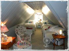 The attic bedroom.