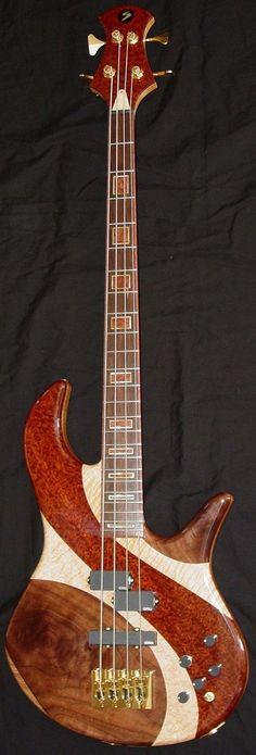 Chris Stambaugh Intarsia Topped CB Bass --- https://www.pinterest.com/lardyfatboy/