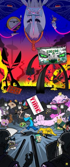 #AdventureTime #SpanishRevolution #crossover #mashup  http://staykf.tumblr.com/