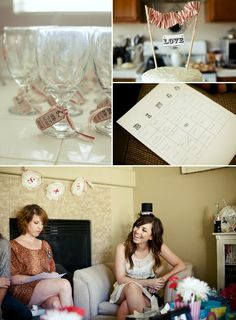 Ideas for a bridal shower