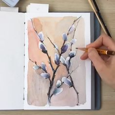 """"""" - John Singer Sargent By 💫 Release your creativity with a BONUS eBook Library by buying NIL Tech Pencil Set, just click ➡️THE Watercolor Video, Watercolour Tutorials, Watercolor Techniques, Art Techniques, Watercolour Painting, Watercolor Flowers, Painting & Drawing, Drawing Step, Painting Videos"""