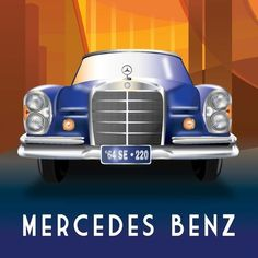 Students at Chapman University were challenged to create Deco-style Mercedes-Benz posters for the @MBclassiccenter. See the full range of their artistic expression—and ours—on our Facebook page. #Mercedes #Benz #220SE #Art #instacar #carsofinstagram #germancars #luxury