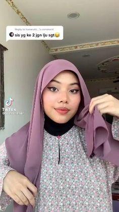 Hijab Turban Style, Mode Turban, Simple Hijab Tutorial, Hijab Style Tutorial, Pashmina Hijab Tutorial, How To Wear Hijab, Stylish Hijab, Hijab Trends, Hijab Fashion Inspiration