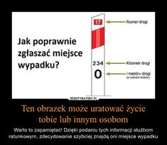 Ten obrazek może uratować życietobie lub innym osobom – Warto to zapamiętać… Survival Tips, Survival Skills, E Mc2, Lol, Simple Life Hacks, Hacks Diy, Interior S, Man Humor, Good Advice