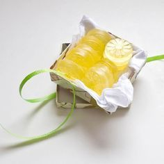 Pin for Later: Say Thanks With These 21 Affordable Bridal Shower Favors DIY Lemon Soap Don't toss your lemon rinds aside! Save them for this DIY lemon soap project that yields lemony fresh results perfect for party favors. Lemon Soap, Diy Stockings, Glycerin Soap, Lemon Essential Oils, Home Made Soap, Handmade Soaps, Homemade Gifts, Diy Gifts, Soap Gifts