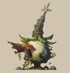 ArtStation - Putt Putt Onion Hut , Jourdan Tuffan: