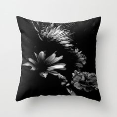 DARK BEAUTY  Pillow by JUST3Js on Etsy